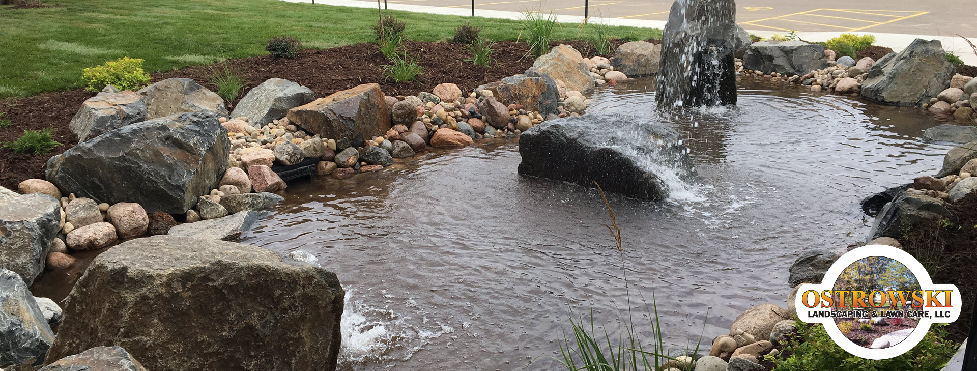 Landscaping & water feature design<br /> and installation