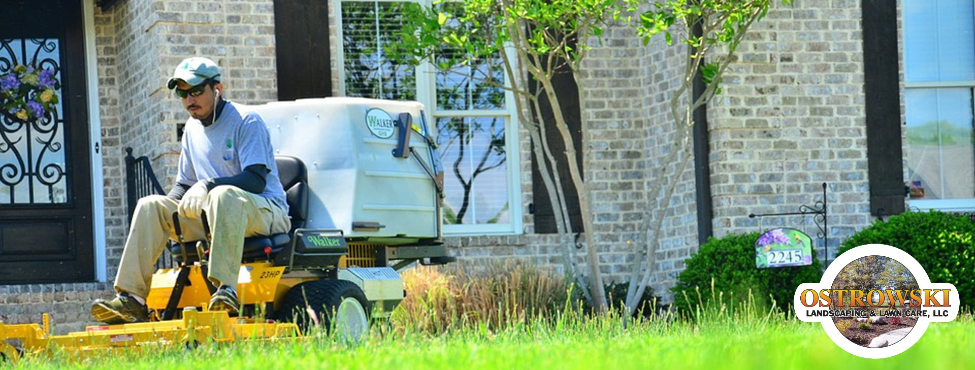 Lawn maintenance services including aeration, <br /> fertilization, and spring and fall clean up